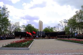 Митинг, посвященный Дню Победы состоялся в Уссурийске