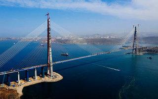 Мост на остров Русский вошел в топ-10 достопримечательностей России