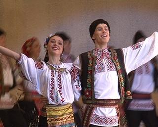Танцы народов мира на сцене ДОРА