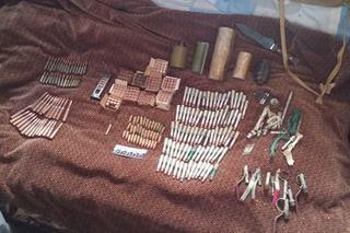 Арсенал оружия и марихуану изьяли в Уссурийском городском округе