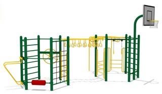 Для уссурийских ребят строят новые универсальные спортивные площадки