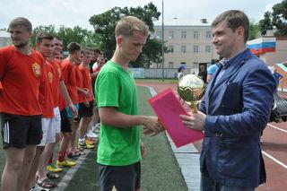 Определились победители турнира среди дворовых команд в Уссурийске