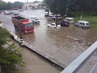 Уссурийск пережил тайфун Гони с потерями