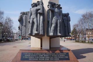 Мемориал воинам-уссурийцам, погибшим в годы ВОВ, находится на реконструкции