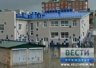 В Уссурийске спустя месяц открылся детский сад, пострадавший от наводнения