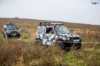 Приморские автоэкстремалы завершили летний сезон соревнованиями по джип-триалу под Уссурийском
