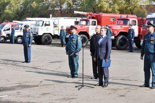 В честь 25-летия образования МЧС России в Уссурийске прошёл День инноваций