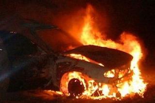 Сегодня ночью в Уссурийске сгорели три авто