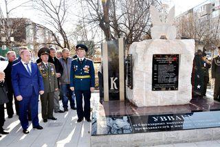 В канун Дня автомобилиста в память о выпускниках УВВАКУ в Уссурийске открыли стелу