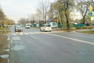 Школьницу сбила машина на пешеходном переходе в Уссурийске