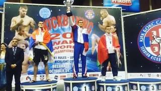 Уссурийский спортсмен завоевал золото чемпионата мира по кикбоксингу