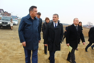 Новый мост к селу Кроуновка построят к середине ноября