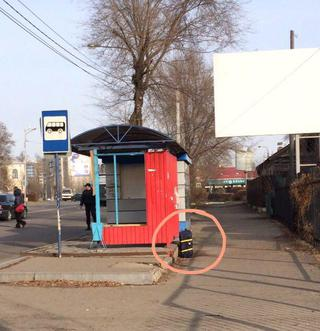 Бесхозный чемодан оставленный на остановке напугал жителей Уссурийска терактом