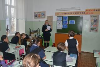 Сотрудники вневедомственной охраны провели «День правовой помощи детям» в Уссурийске