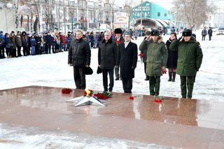 Уссурийцы почтили память павших на полях сражений