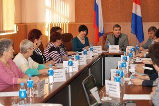 Проблемы инвалидов обсудили в администрации Уссурийска