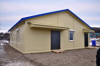 Завершено строительство нового фельдшерско-акушерского пункта в селе Утесном