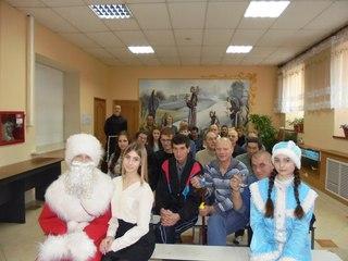 Студенты поздравили постояльцев центра для бездомных