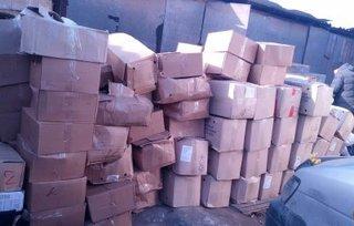 7 тонн варено-мороженого краба обнаружены на территории частного домовладения в Уссурийске