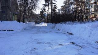 Оперативная информация по расчистке дорог и тротуаров Уссурийска на 26 января