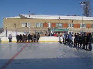 Хоккейный турнир, посвященный памяти В. Борисенко, состоялся в с. Борисовка