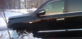 В Уссурийске обнаружили джип со следами крови