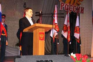 С Днем защитника Отечества уссурийских военнослужащих поздравил глава администрации