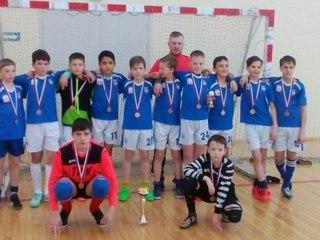Уссурийский «Мостовик-03» завоевал бронзу на «Планете мини-футбола»