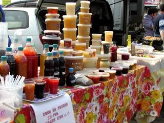 Продовольственные ярмарки на центральной площади Уссурийска начнут свою работу 4 марта