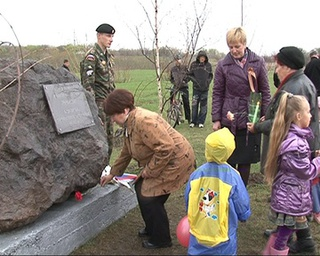 Вахту Памяти отстояли студенты у Вечного огня