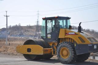 На Новоникольском шоссе начались дорожные работы