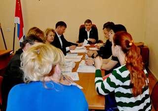 Глава администрации УГО провёл прием граждан по личным вопросам