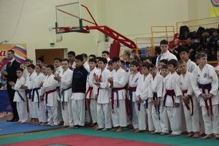 Чемпионат Дальневосточного Федерального округа по каратэ WKF прошел в Уссурийске