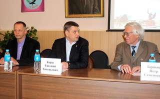 Глава администрации УГО встретился с жителями села Горно-Таежное