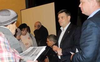 Евгений Корж встретился с жителями округов «Железнодорожная слобода» и «Восход» в Уссурийске