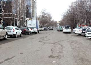 Евгений Корж продолжил осмотр дорог отремонтированных год назад в Уссурийске