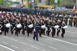 На 9 Мая уссурийцы хором споют «День Победы»