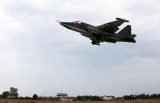 Штурмовик Су-25 разбился в Приморье