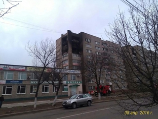 Жертвой пожара в многоэтажке Уссурийска стала 73-летняя женщина