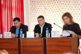 Очередную встречу с населением глава администрации УГО провел в селе Красный Яр