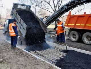 Дороги ремонтируют в Уссурийске
