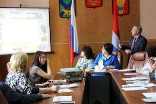 Совместное заседание советов при администрации УГО состоялось в Уссурийске