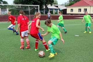 Дворовые команды по футболу готовятся к финалу