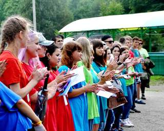 Сегодня стартовал III слёт волонтёров Уссурийского городского округа