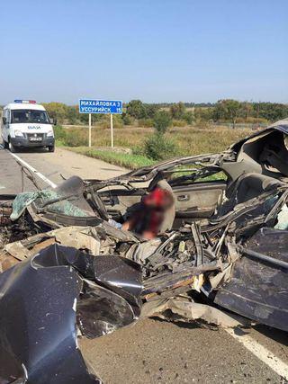 Страшная авария произошла на трассе Уссурийск