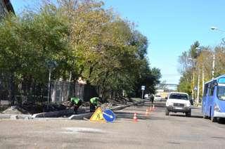 Сезон дорожных работ подходит к концу в Уссурийске