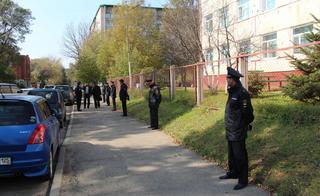 В Уссурийске сотрудники транспортной полиции приняли участие в краевом антитеррористическом учении