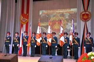 Юбилей 5-й Краснознаменной общевойсковой армии отметили в Уссурийске
