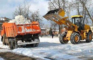 С улиц Уссурийска уже вывезено почти пять тысяч кубометров снега