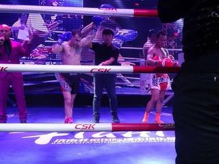 Приморский кикбоксер победил в Пекине
